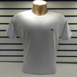cd42593541 Camiseta Masculina Fio40 com elastano atacado (10 pecas) 4 cores