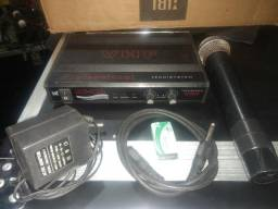 Microfone sem fio TSI usado em perfeito funcionamento