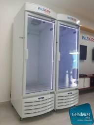 Geladeira Para Agua , Sucos e Refrigerantes - Seminova Da Marca Metalfrio