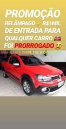 Hoje!! R$1MIL DE ENTRADA (SAVEIRO CROSS CE 2015) SHOWROOM AUTOMÓVEIS