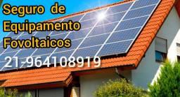 Seguro para placas solares e sistemas