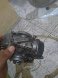 Vendo carburador original de gs.500 e monoshok gs.500