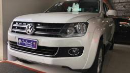 VolksWagen AMAROK High.CD 2.0 16V TDI 4x4 Dies. Aut - Branco - 2015