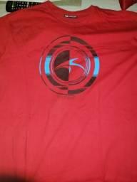 Camisa maresia vermelha top de linha original