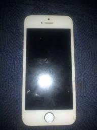 iPhone 5c  com placa queimada pra pega peça .