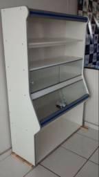 Expositor vasca lateral de pães Artlux 1,20m Novo Frete Grátis