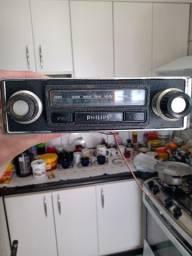 Auto rádio antigo Philips