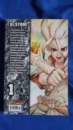 Mangá Dr.stone 5 volumes