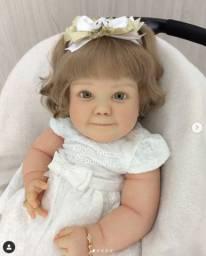Bebê Reborn Original - Kit June Awake 7 Meses