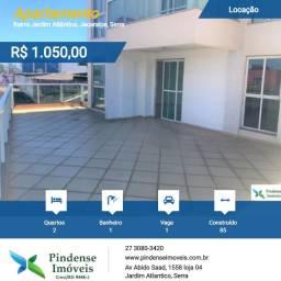 Apartamento a 100 metros da praia em Jacaraípe, 02 quartos