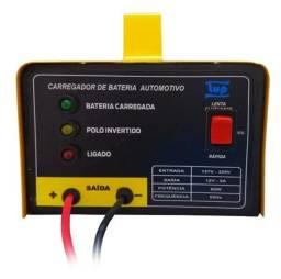 Carregador De Bateria Automotivo Bivolt 12v 5a