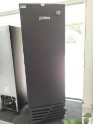 Freezer cervejeira Imbera porta de aço 454L 110v Nova Frete Grátis