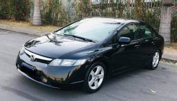 NEW CIVIC 1.8 automatico 2007 gasolina chama no zap