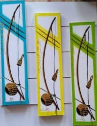 Belo Quadro,pintura decorativa 10x40 em acrílica sobre tela, Artista Carlos Júnior.