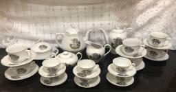 Serviço de chá e café 17 peças