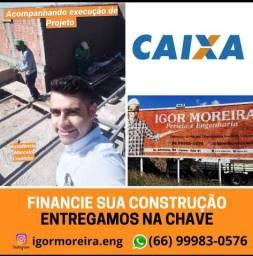 Casa na planta - Financiamento de construção
