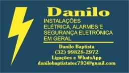 Eletricista Residencial & Indústrial/Alarme,Câmeras