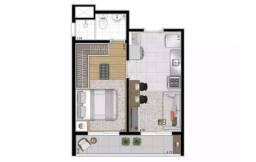 Apartamento a venda Barra Funda 1 Dormitório Minha Casa Minha Vida