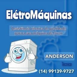 Faço  higienização da sua Máquina de Lavar roupas