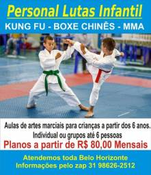 Aulas particulares arte marcial infantil