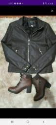 Vendo já chaqueta támanho M blusa  nova