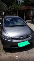 Honda Civic 2008 completo de tudo venda e financio