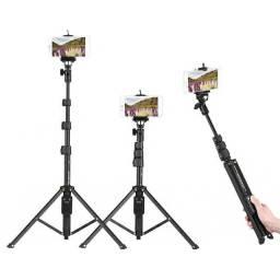 bastão / tripé retratil para smartphones/ gopro / e demais cameras (novo)