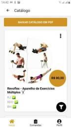 Revoflex - Aparelho de Exercícios Múltiplos ?<br>