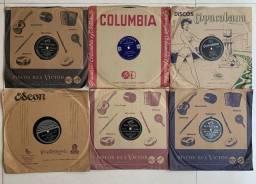 Discos antigos 78 rotações