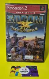Socom US Navy Seals (lacrado) ps2