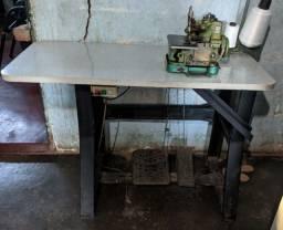 Máquina semi industrial overloque