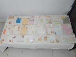 Coleção Impecável De Papel De Carta - 973 Unidades