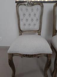 Cadeira Luís Xv  no ouro velho