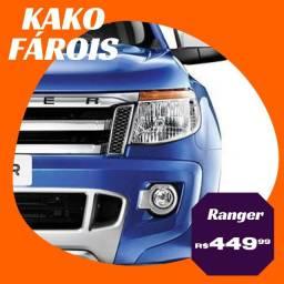 Farol Ranger 2013 2014 2015 2016 Manual Cromado