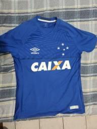 Camisa do Cruzeiro 2018 (OFICIAL - PERFEITO ESTADO)