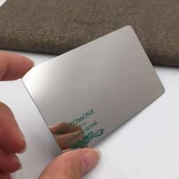 Incrível Cartão de Papel Metálico Personalizado Garanta Agora