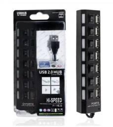 Régua USB com 7 entradas R$ 31,00