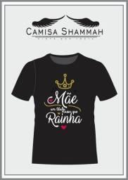 Camisas personalizadas - Dia das Mães.