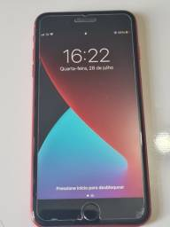 iphone 8 plus 64 gb, sem marcas de uso, bateria 82%