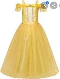 Vendo este vestido da princesa bela infantil