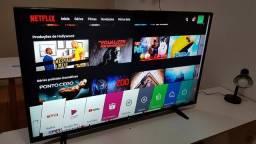 Smart Tv LG led 49 pol full hd wifi zerada top esta sim tá valendo