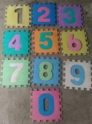 Tapete EVA Infantil Numérico 10 Placas