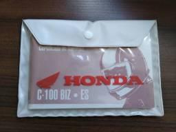 Manual Do Proprietário Honda Biz C-100 Es 1999