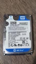 HD 320 GB Notebook (Em Alerta)