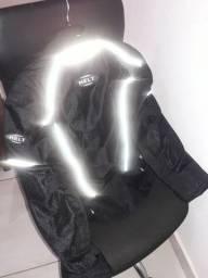 Jaqueta Motociclista Helt M com proteção cotovelos, costas e ombros