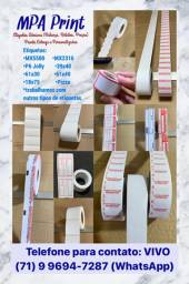 Etiquetas Adesivas - Papel COLACRIL