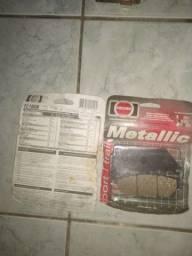 2pares de Pastilha de freio FISHER metallic para CB 500