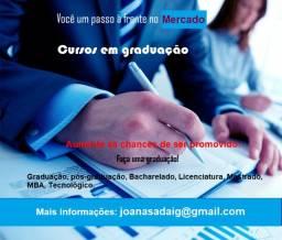 Curso em Mestrado e MBA sem pagar antecipado
