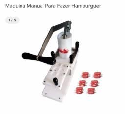 Máquina de fazer hambúrguer