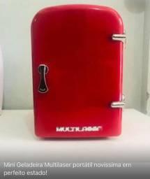 Mini Geladeira Retrô Multilaser Portátil